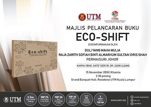 Majlis Pelancaran Buku Eco-Shift