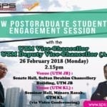 New Postgraduate Students' Engagement Session
